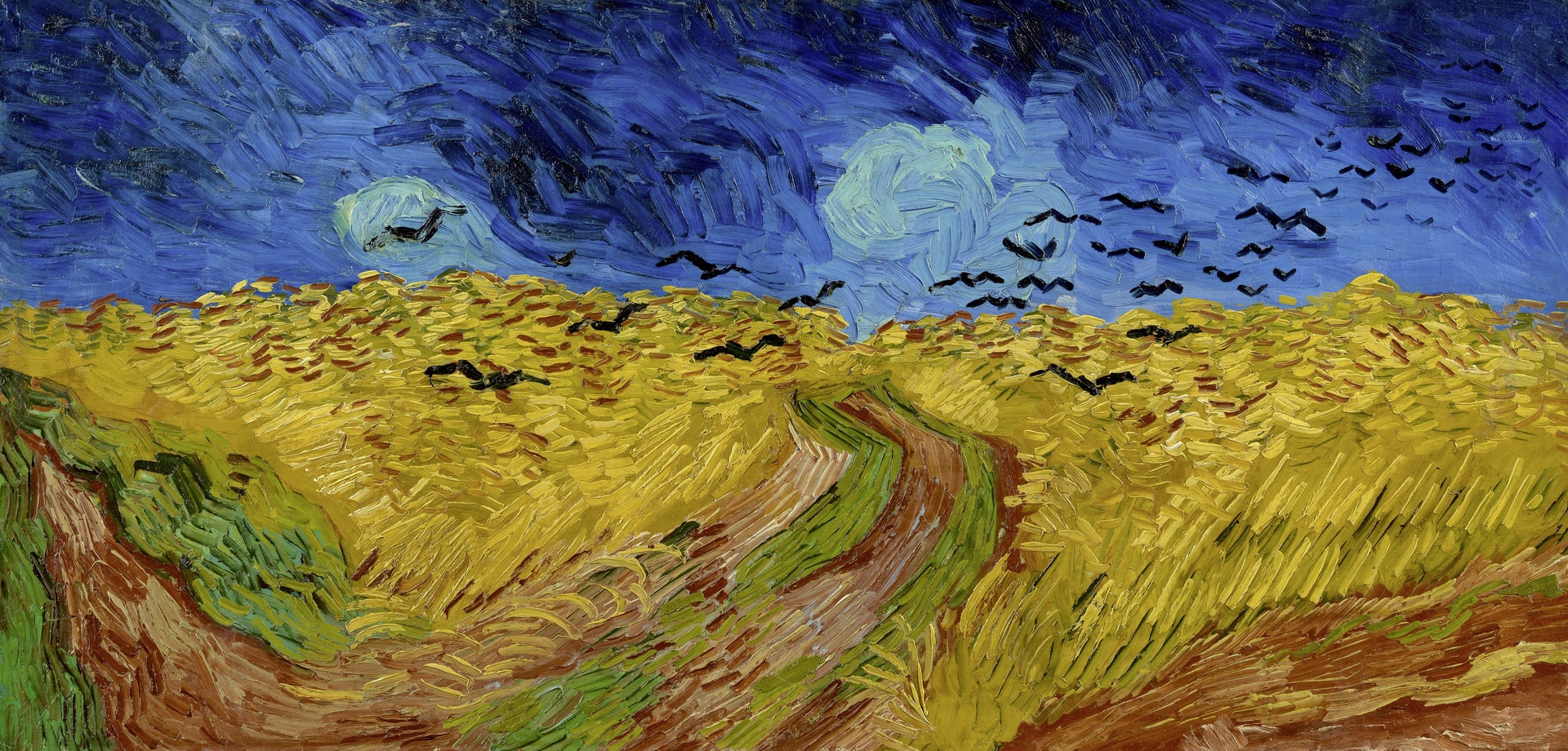 Wheatfield with Crows (1890) by Vincent Van Gogh - Pako Campo