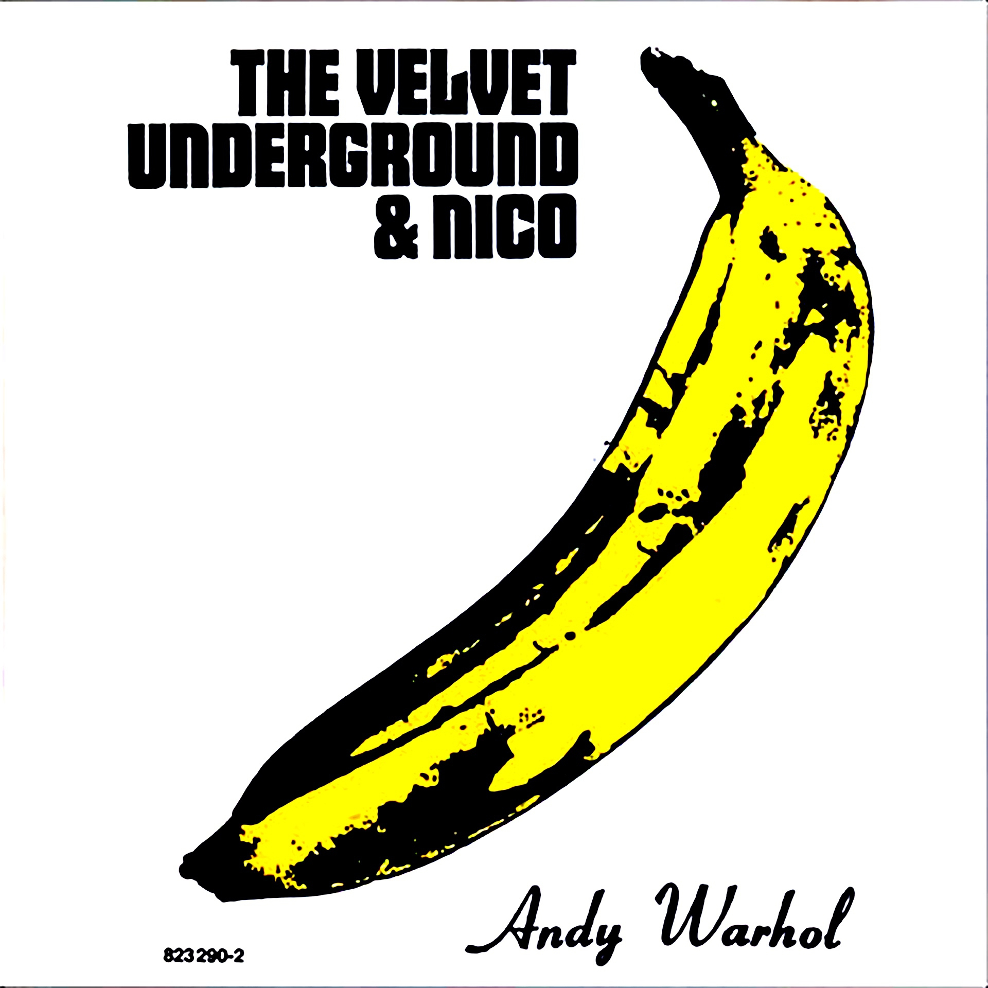 The Velvet Underground & Nico cover (1967) by Andy Warhol - Pako Campo