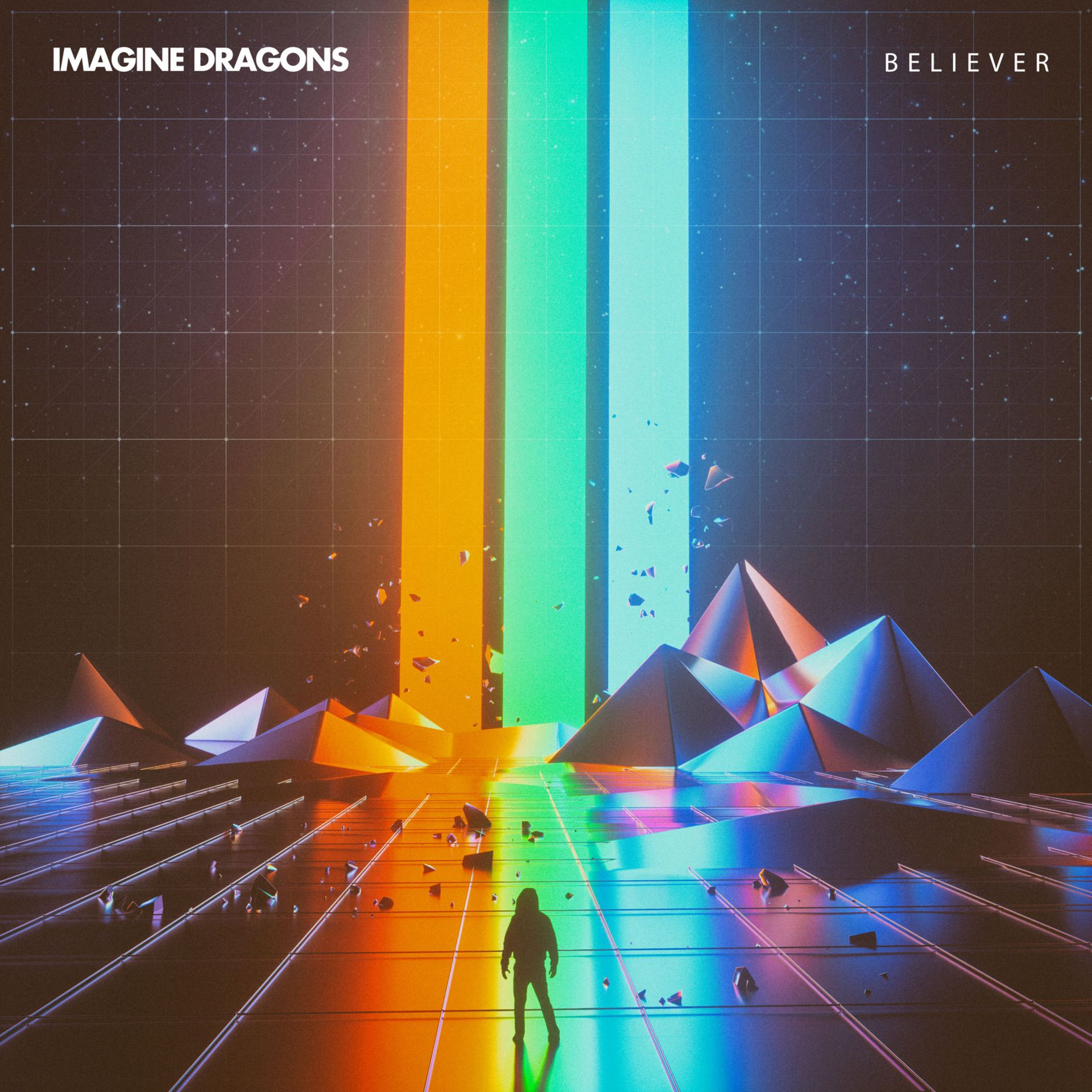 Imagine Dragons' Believer cover (2018) by Beeple - Pako Campo