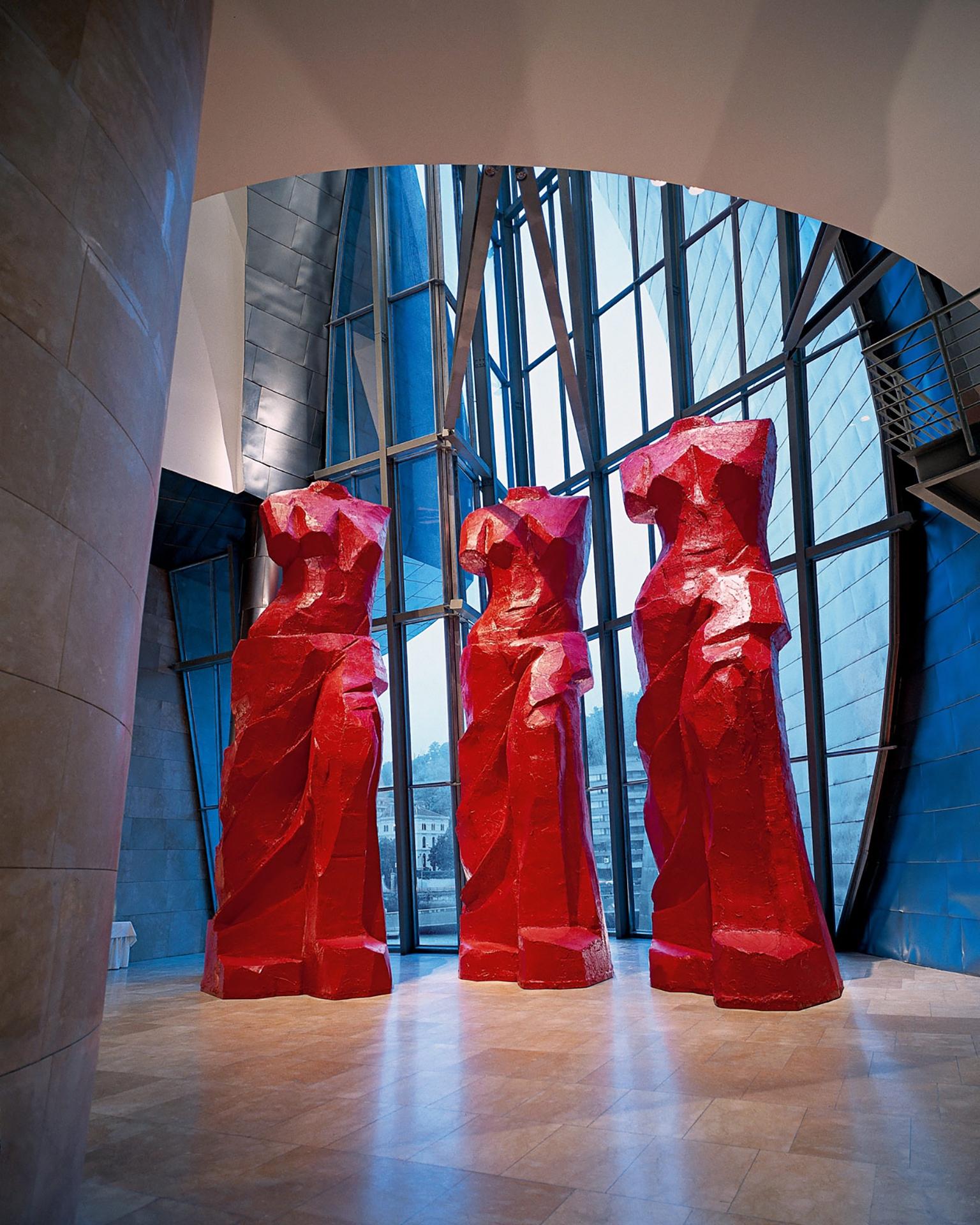 Three Spanish Venuses (1997) by Jim Dine - Pako Campo