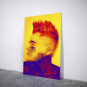 Blurred - Visual art on acrylic glass by Pako Campo