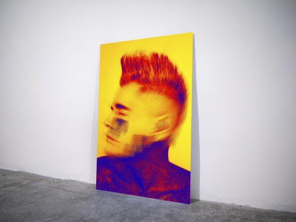 Blurred - Visual art on acrylic glass by Pako Campo