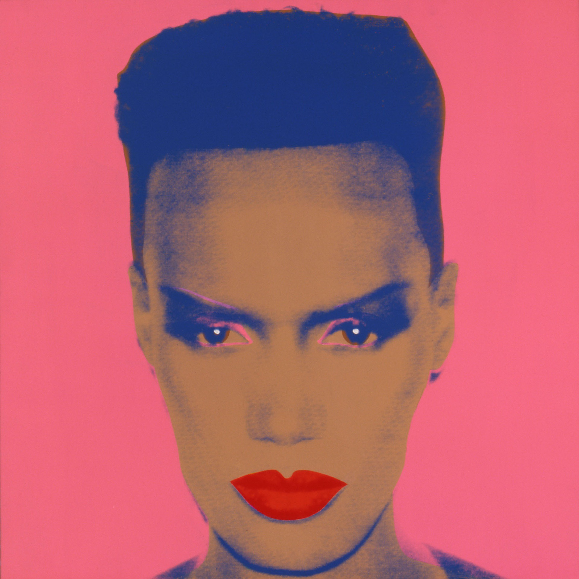 Grace Jones (1986) by Andy Warhol - Pako Campo