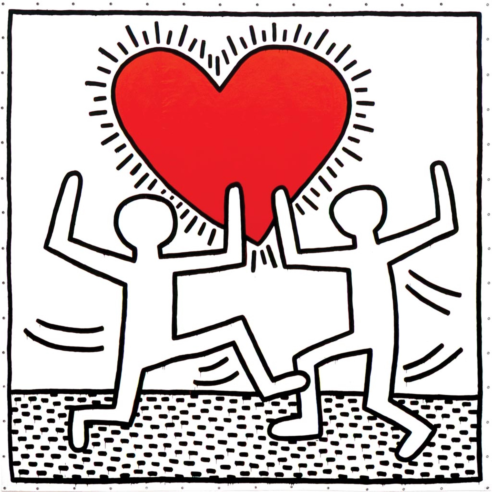 Untitled (1982) by Keith Haring - Pako Campo