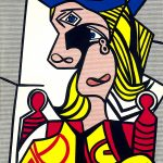 Woman with flowered hat (1963) by Roy Lichtenstein - Pako Campo
