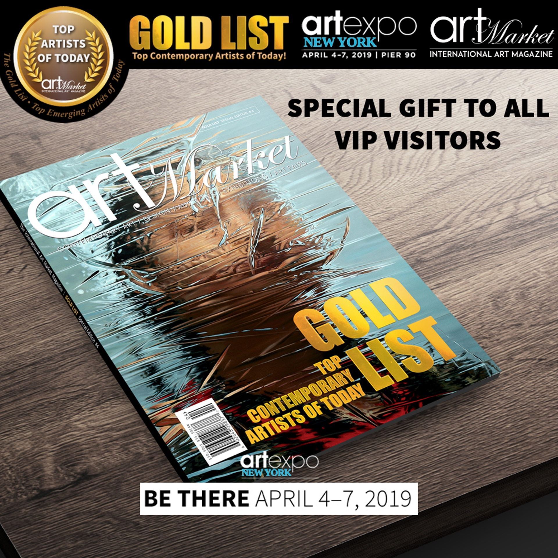 The Gold List by Pako Campo