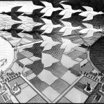 Day and Night (1938) by M.C. Escher - Pako Campo