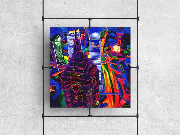Shanghai Kolor - Limited edition giclée by Pako Campo