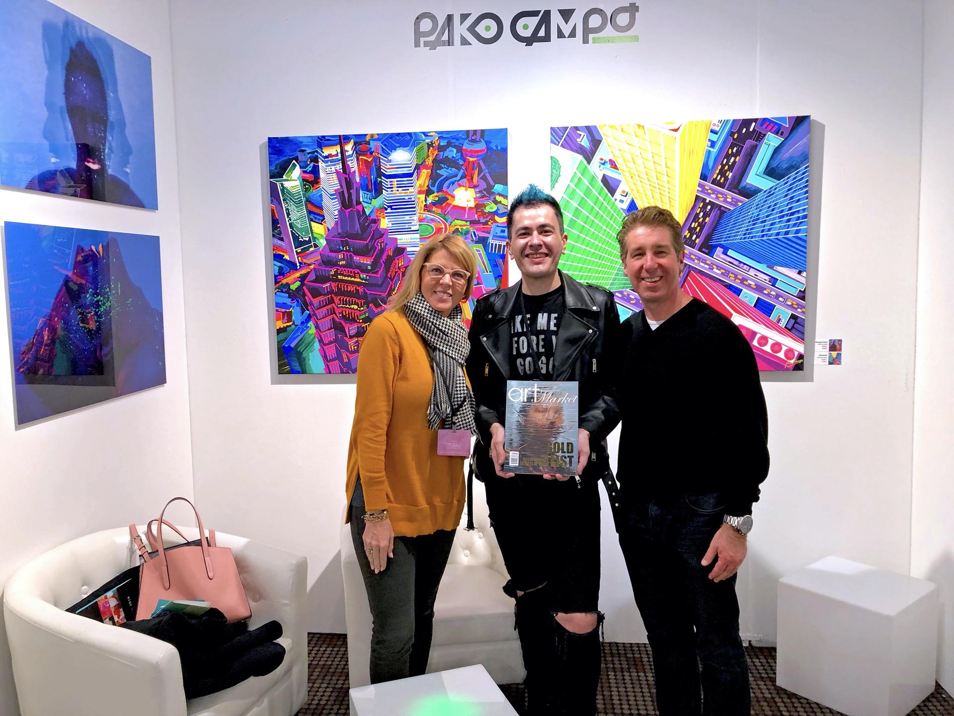 El artista de La Rioja Pako Campo triunfa en Nueva York (Rioja2)