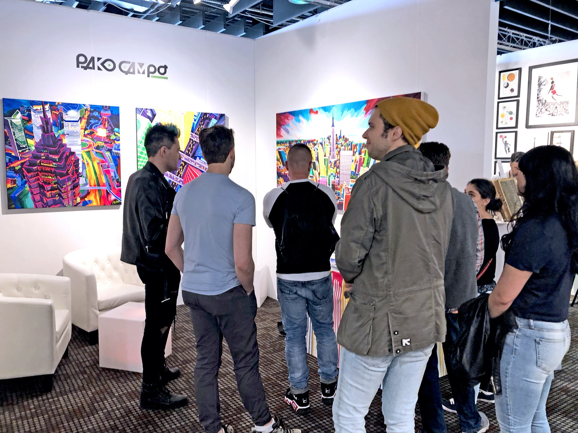 Last day of Artexpo New York 2019 03 by Pako Campo