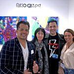 Pako Campo with Jorge Viera and Anna Katerina Barbi