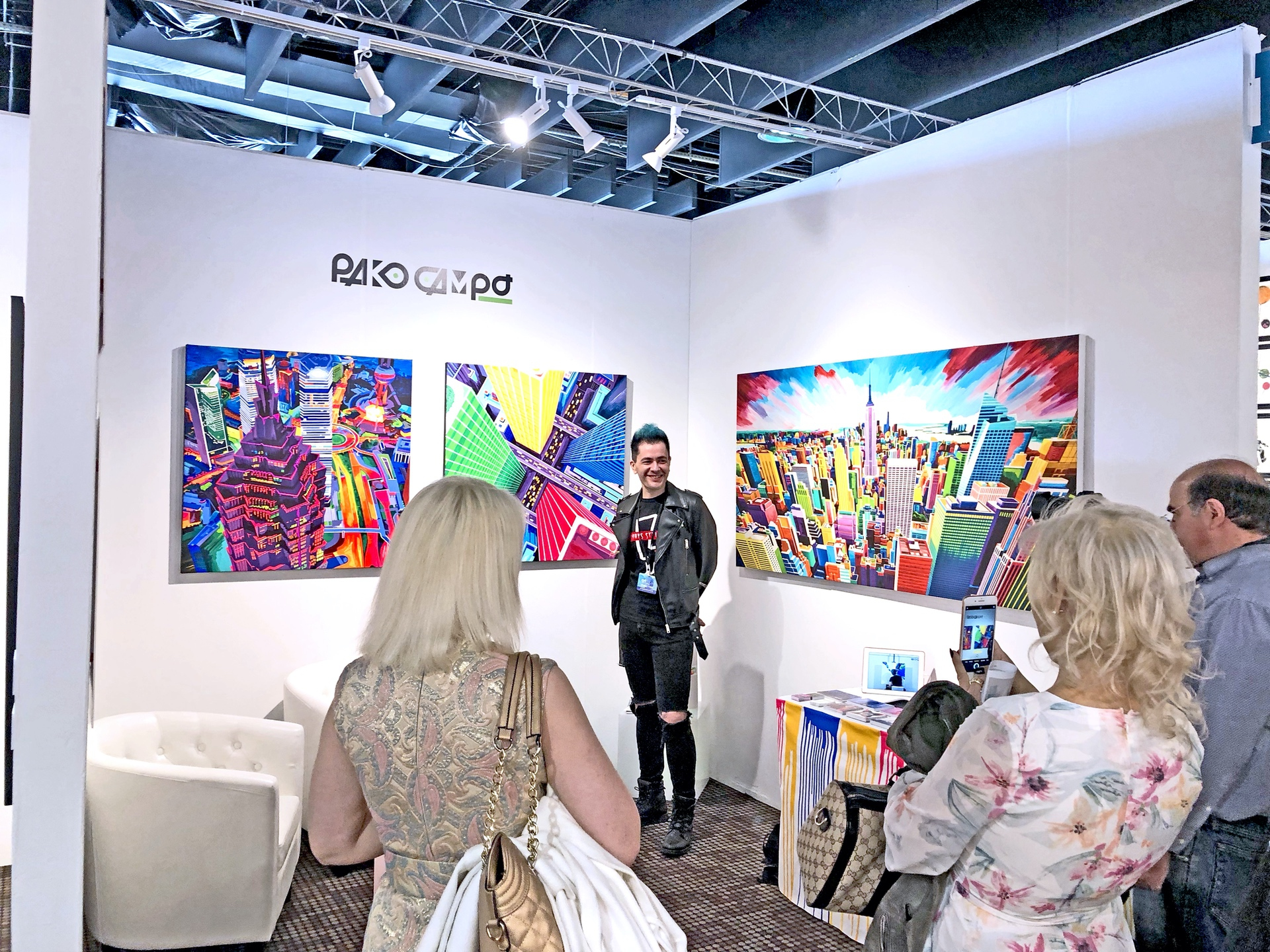 Last day of Artexpo New York 2019 08 by Pako Campo