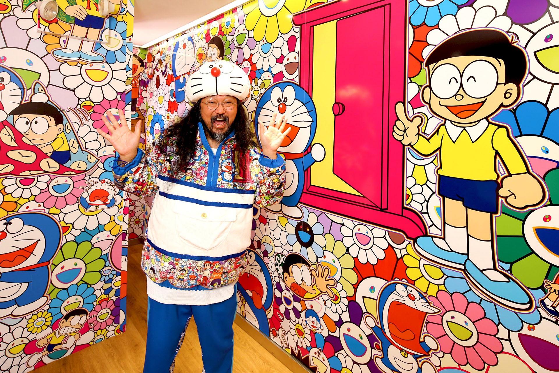 Doraemon (2018) by Takashi Murakami - Pako Campo