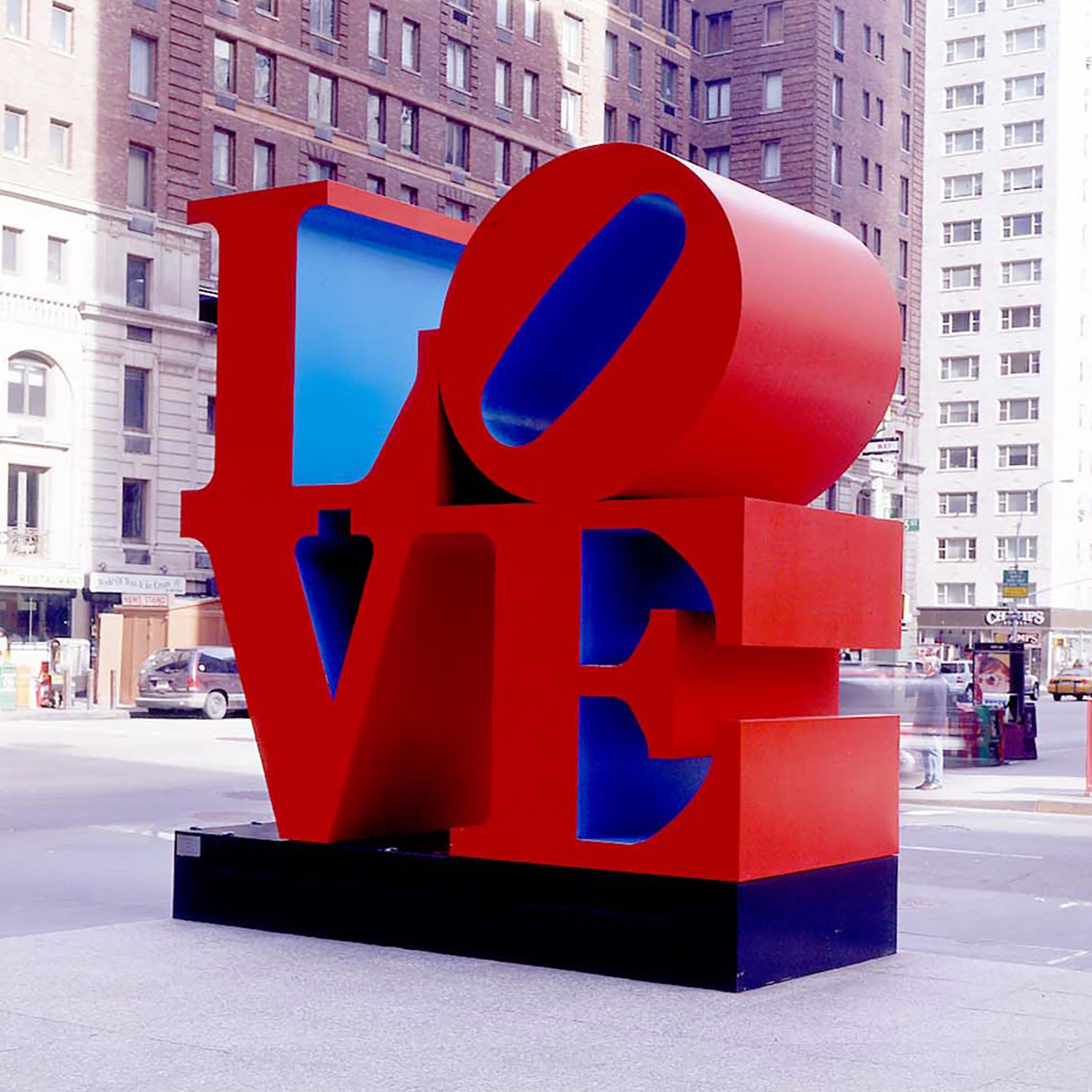 Love (Sixth Avenue of New York) by Robert Indiana _ Pako Campo