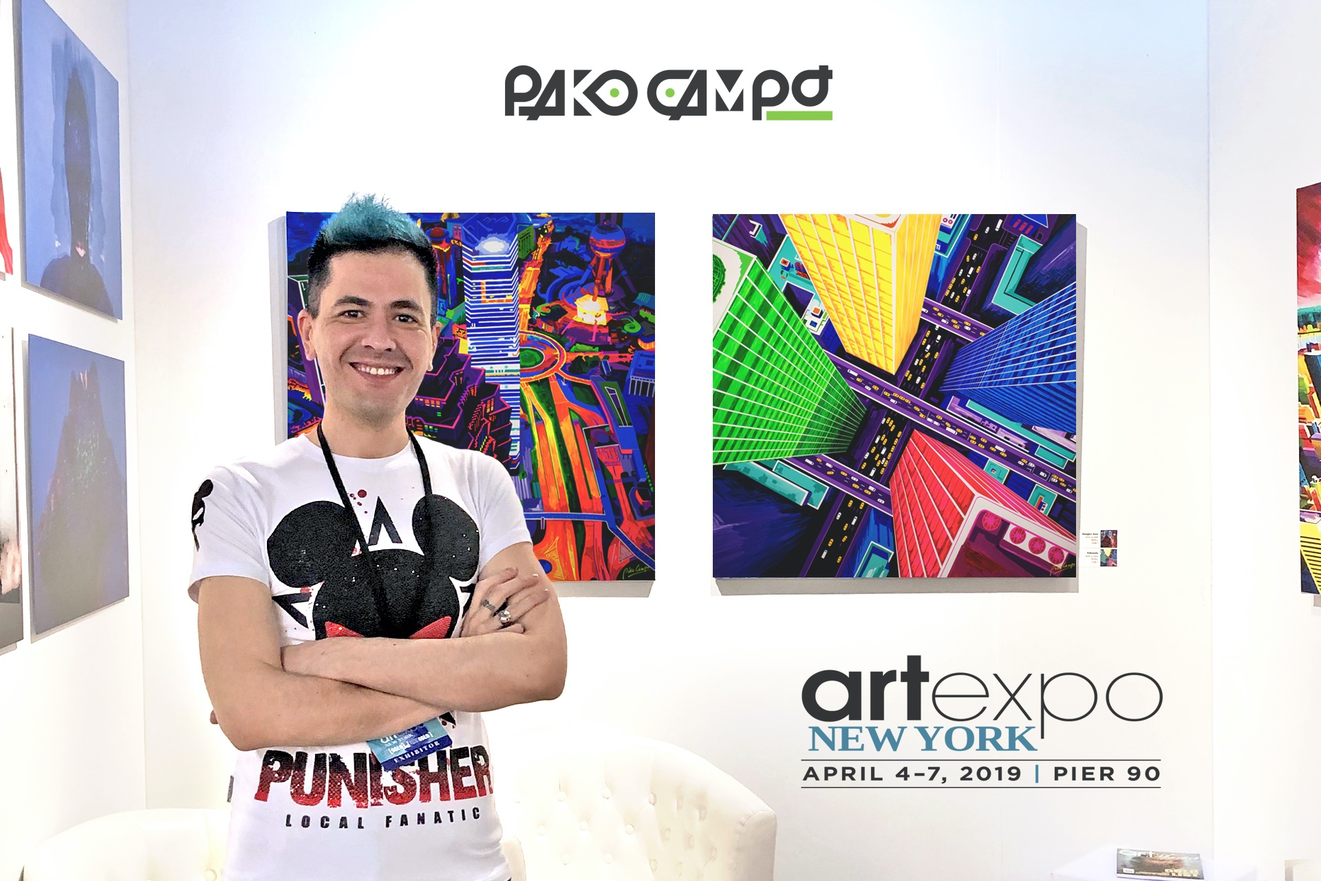 Artexpo New York 2019 Recap by Pako Campo