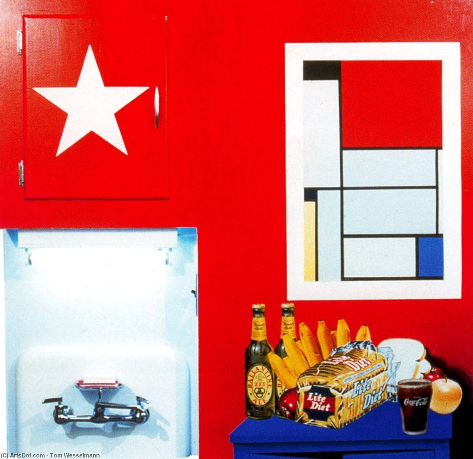 Still Life #20 (1962) by Tom Wesselmann - Pako Campo