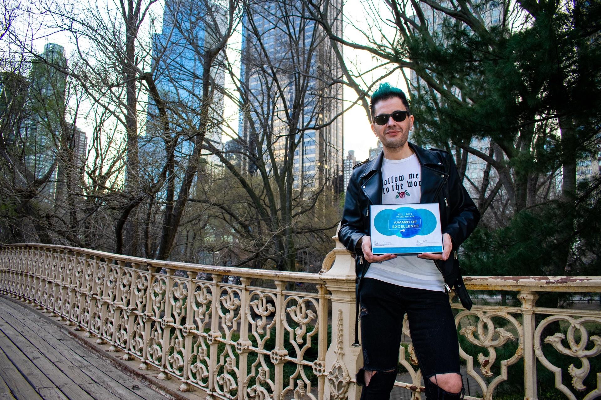 De Cenicero a Nueva York: el riojano Pako Campo, tendencia en el arte