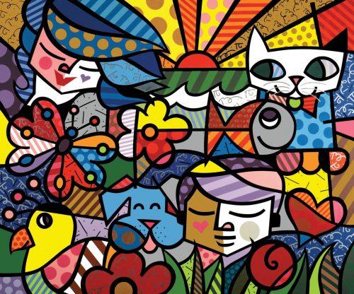 Garden (2000) by Romero Britto - Pako Campo