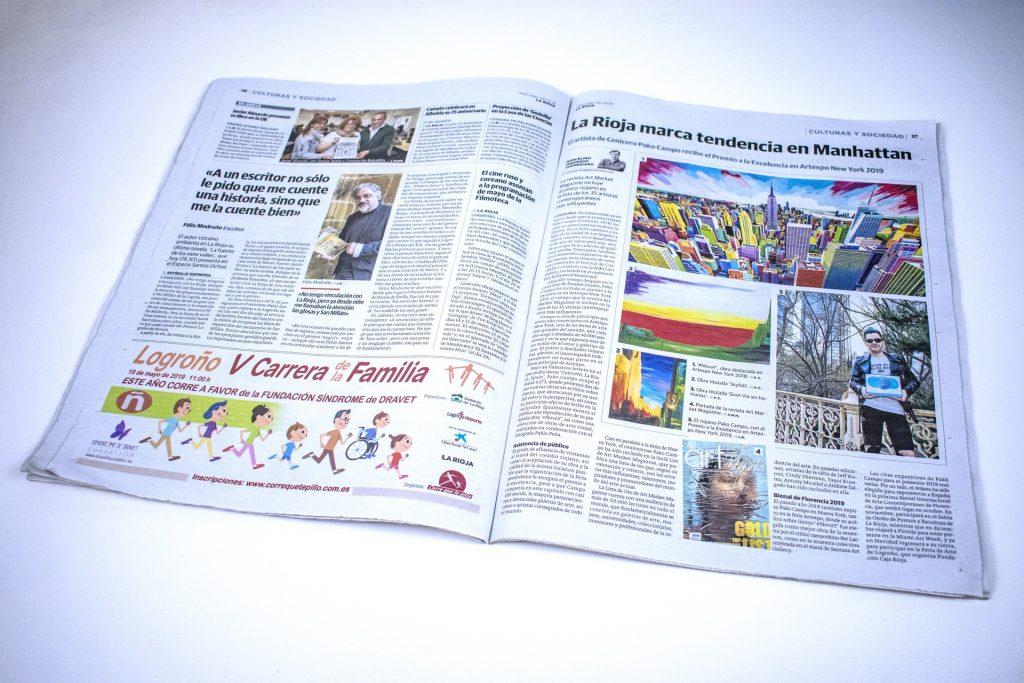 Diario La Rioja. La Rioja marca tendencia en Manhattan (Printed edition)