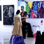 Lauri Stallings + glo performance at Fluorescence Biennale