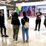 Artists talk at Fluorescence Biennale