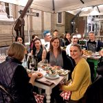 Artists dinner at Florentine night by Pako Campo