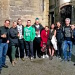 Artists hanging out in Florence by Pako Campo