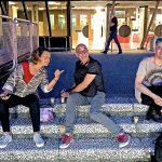 Lupe Alcázar, Chema Rivas & Pako Campo at Fluorescence Biennale