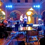 Poetry show at Le Murate Cafe in Florence