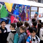 Pako Campo's art blow the mind of scholars at Fluorescence Biennale