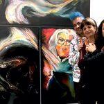 Pako Campo, Kinda Barazi & Sara Laviashvili at Fluorescence Biennale