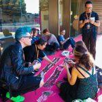MMO, Fátima Naranjo, Kinda Barazi and other artists at Fluorescence Biennale