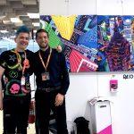 Pako Campo & Diego Donadio at Fluorescence Biennale