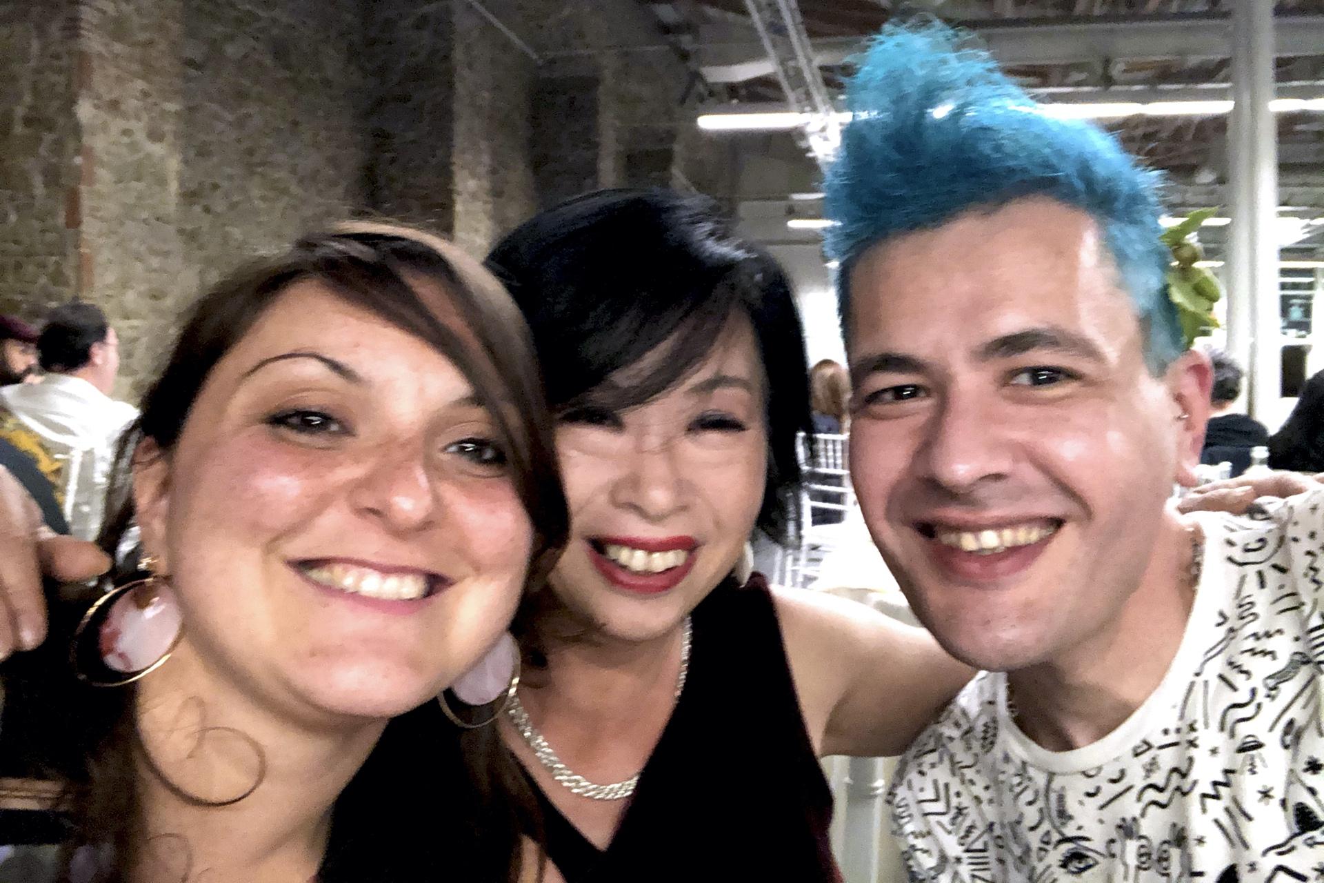 Perni, Liku Maria Takahashi & Pako Campo at Fluorescence Biennale