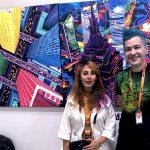 Mina Pournaghi & Pako Campo at Fluorescence Biennale