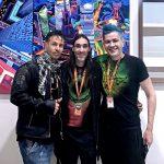 Angelo Tasini, Pablo Peña & Pako Campo at Fluorescence Biennale