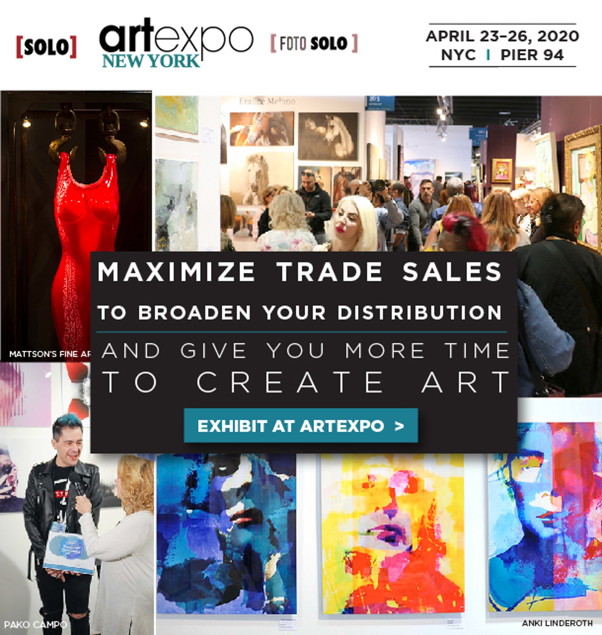 Artexpo New York Newsletter. Are trade shows right for your art business?