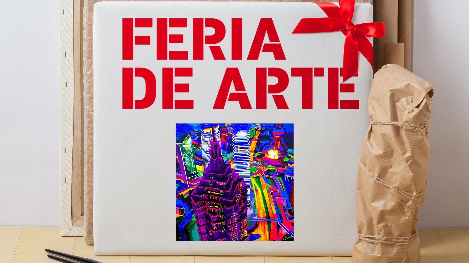 La ventana del arte. Feria de Arte 2019, 5 artistas en pequeño formato