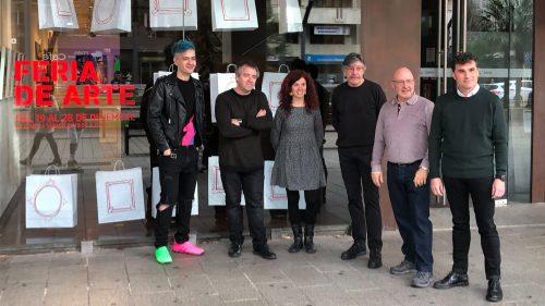 Inaugurada la 'V Feria de Arte' organizada Fundación Caja Rioja y Bankia