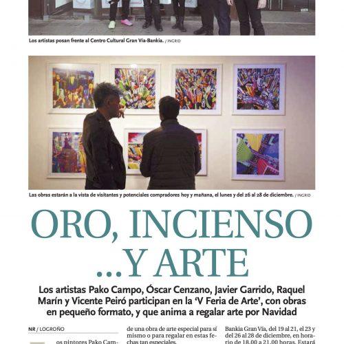 Noticias de La Rioja. Oro, incienso y arte (Printed edition)