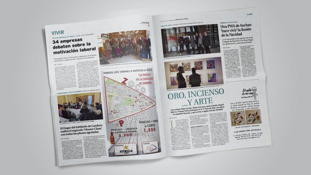 Noticias de La Rioja. Oro, incienso y arte (Printed edition)