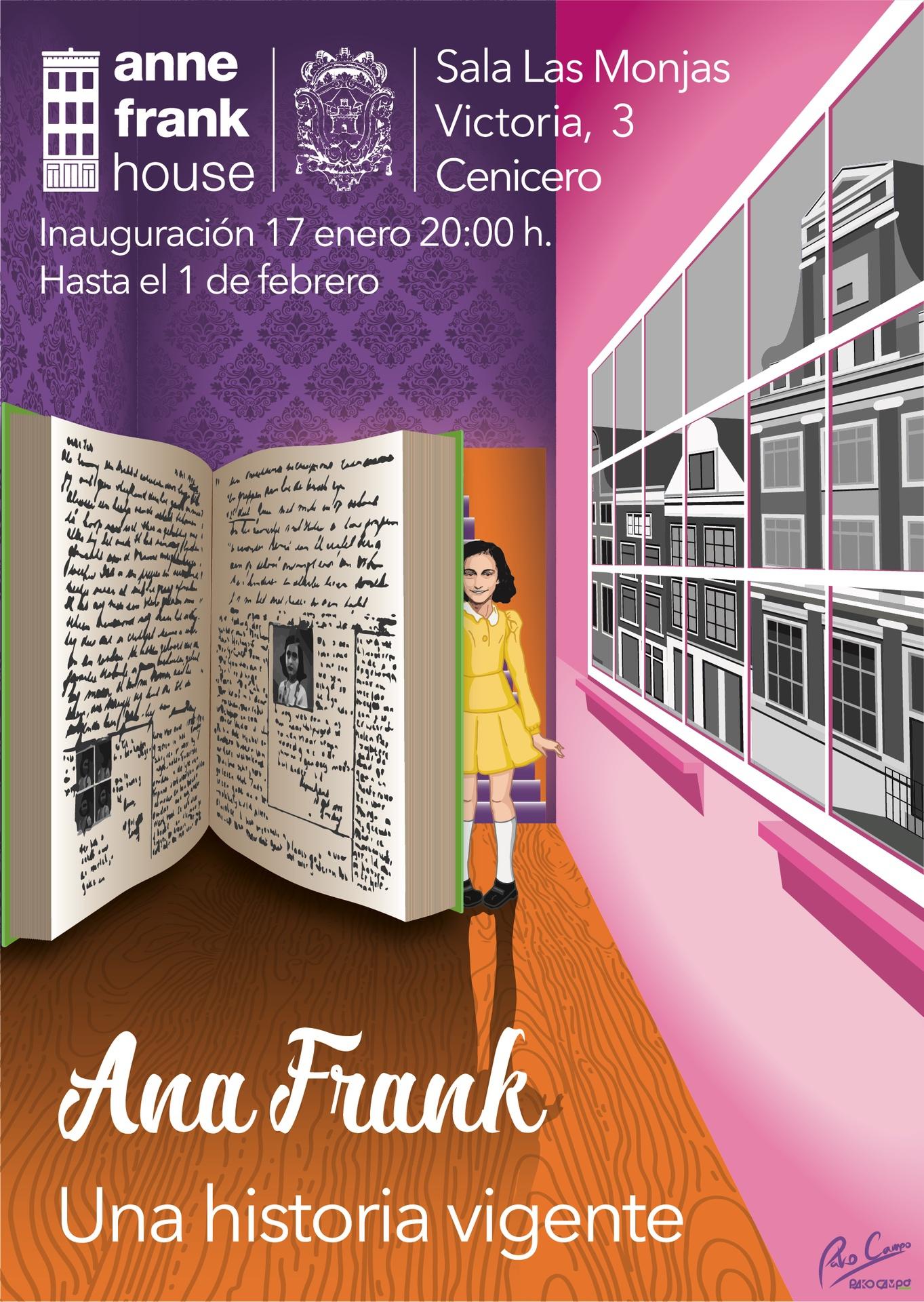 Ana Frank, una historia vigente by Pako Campo