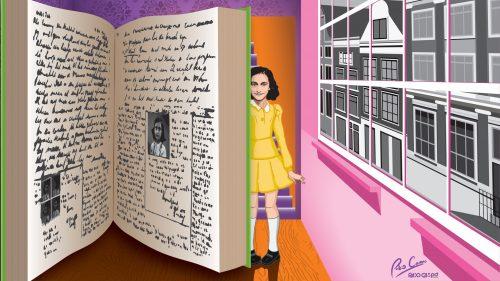 Diario La Rioja. Exposición sobre Ana Frank en Cenicero
