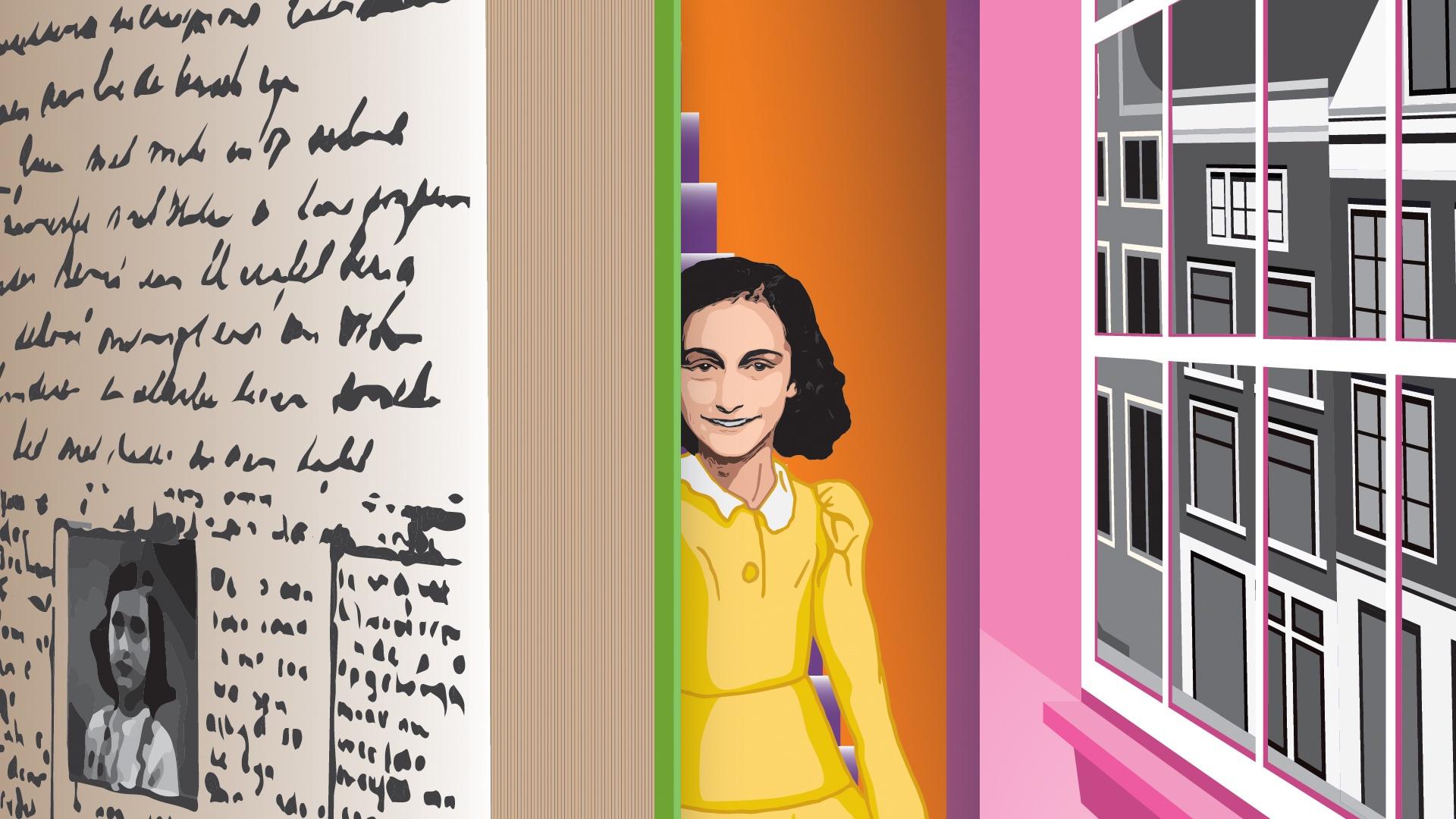 Rioja2. Cenicero acoge una exposición oficial de la Casa de Ana Frank