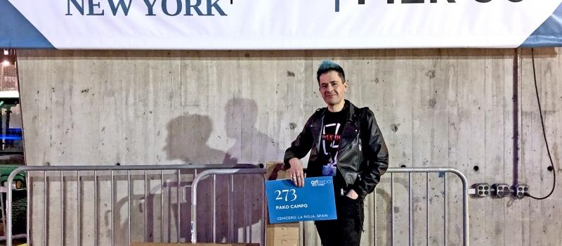 El artista de La Rioja Pako Campo conquista Nueva York (WINY Magazine)